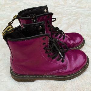 Dr. Martens Purple Kids Boots